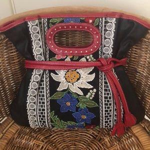 Handbags - Unlabeled Isabella Fiore Beaded Clutch Handbag